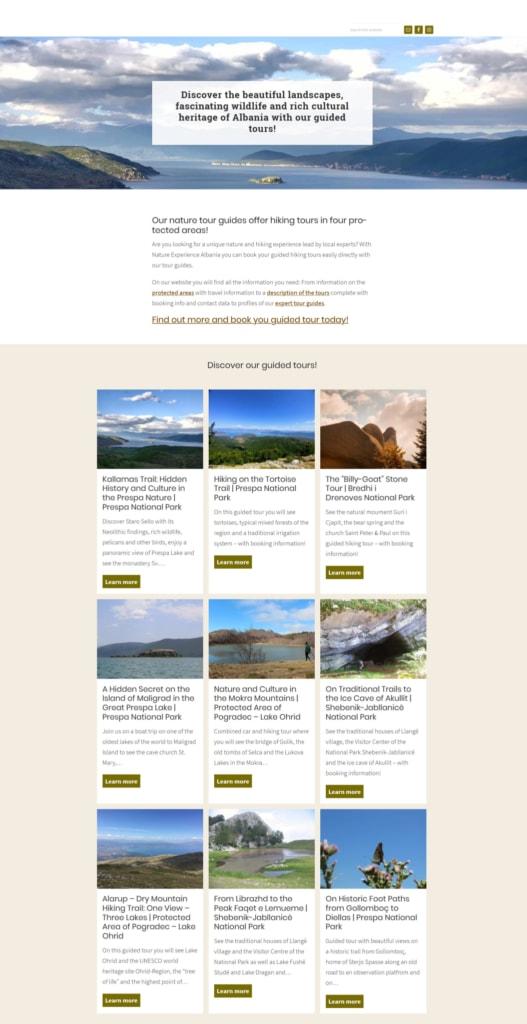 Screenshot Nature Experience Albania