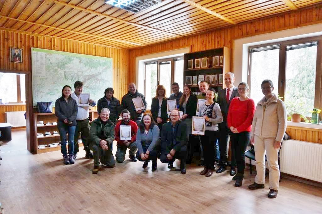 presentation of certificates Rila Bulgaria 2019 Photo R Pashova 2
